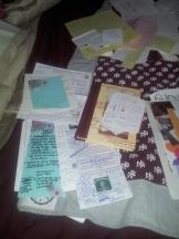 Journals full of prayers