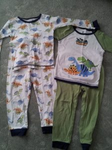 The jammies L wore during treatment in 2009